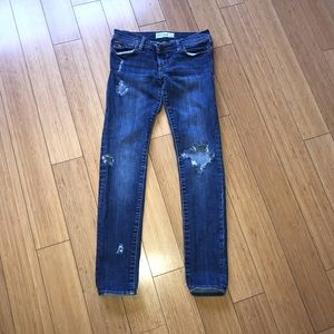 Abercrombie Kids Distressed Destroyed CuteStretch